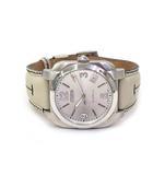 コーチ COACH COACH コーチ 5th anniversary 5周年記念モデル 0245 レザー ベルト 自動巻き 腕時計 シルバーカラー オフホワイト