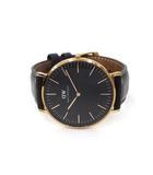 ダニエルウェリントン DANIEL WELLINGTON DANIEL WELLINGTON ダニエルウェリントン DW00100127 CLASSIC Sheffield クラシック シェフィールド 40mm クォーツ 腕時計 ブラック