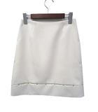 エポカ EPOCA 美品 EPOCA エポカ スタッズ デザイン フレア スカート 38 ホワイト