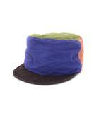 子供用 ocean&ground オーシャン&グラウンド 1613101 ブロッキング デザイン ワークキャップ 帽子 52-54cm マルチカラー
