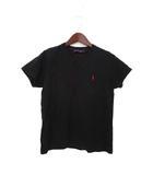 ラルフローレン RALPH LAUREN RALPH LAUREN ラルフローレン ポニー 刺繍 半袖 Tシャツ カットソー M ブラック