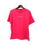 ザラ ZARA Tシャツ M ピンク コットン 半袖 プリント