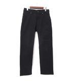 ラングラー WRANGLER デニム パンツ 28 黒 ブラック カラー ストレート WM3903