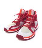アディダス adidas アディゼロ ADIZERO バスケット シューズ バッシュ 28cm 赤 レッド スニーカー B49681