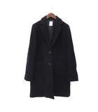 テチチ Te chichi ステンカラー コート M 紺 ネイビー ウール 無地 シンプル