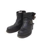 チペワ CHIPPEWA エンジニア ブーツ 7H 25.5cm 黒 ブラック ショート レザー 27872