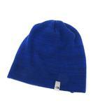 ザノースフェイス THE NORTH FACE ニット帽 ニットキャップ 帽子 F 青 ブルー ウール混 ビーニー NN41226 美品