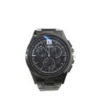 腕時計 黒 ブラック アテッサ ATTESA ダイレクトフライト エコドライブ クォーツ BY0094-79E 美品