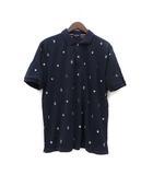 フィールドドリーム field/dream ポロシャツ XL 紺 ネイビー 半袖 刺繍