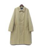 ナナミカ nanamica バルマカン コート M ベージュ 比翼ボタン ステンカラー Aライン GORE-TEX SUBF015 美品