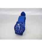 タイメックス TIMEX ビューティ&ユース キャンパー ナイロン ストラップ 腕時計ブルー【ブランド古着ベクトル】【中古】190312★