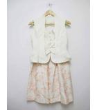 ミス アシダ miss ashida キルティング 刺繍スカート セットアップ 7【ブランド古着ベクトル】【中古】190510