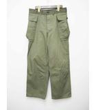 ウエアハウス WAREHOUSE U.S.ARMY Herringbone Pants/Lot.1098 カーゴパンツ オリーブ 32【ブランド古着ベクトル】【中古】190518★