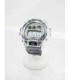 カシオ CASIO G-SHOCK ジーショック DW-6900SK-1JF 腕時計 クリアスケルトン【ブランド古着ベクトル】【中古】190522