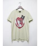 ヴィヴィアンウエストウッド Vivienne Westwood アングロマニア World Hart プリント Tシャツ 半袖 L 【ブランド古着ベクトル】【中古】190629★