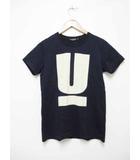 アンダーカバー UNDERCOVER Uロゴ Tシャツ XS ネイビー 【ブランド古着ベクトル】【中古】190818★