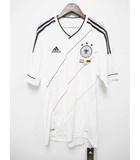 アディダス adidas 未使用品 サッカー ドイツ 代表 EURO 2012 記念 レプリカ ユニフォーム 半袖 Tシャツ 白 M【ブランド古着ベクトル】【中古】190920★