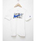 ナイキ NIKE AT6828-100 18SS AS M NSW AIRMAX TEE ATMOS WE LOVE NIKE PACK ロゴ プリント Tシャツ サイズM ホワイト【ブランド古着ベクトル】【中古】191217