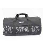シュプリーム SUPREME 18AW Duffle Bag Black ダッフル バッグ ボストン 黒【ブランド古着ベクトル】【中古】200311☆AA★