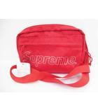 シュプリーム SUPREME 未使用品 18AW Shoulder Bag  ロゴ ナイロン ショルダーバッグ Red 赤【ブランド古着ベクトル】【中古】200326☆AA★