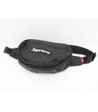 シュプリーム SUPREME 18AW Waist Bag ウエストバック Black 黒【ブランド古着ベクトル】【中古】200514☆AA★