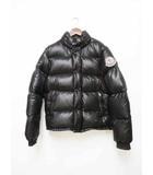 モンクレール MONCLER エベレスト ダウンジャケット Black ブラック サイズ1 Z6H0710 【ブランド古着ベクトル】【中古】200520☆AA★