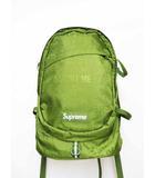 シュプリーム SUPREME 19SS Cordura Backpack olive バックパック リュック ロゴ 緑 グリーン オリーブ 【ブランド古着ベクトル】【中古】 200628 ☆AA★