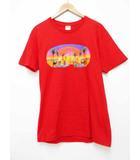 シュプリーム SUPREME 16SS Taj Mahal タージマハル プリント Tシャツ 半袖 M レッド Red【ブランド古着ベクトル】【中古】 200801 101 ☆AA★
