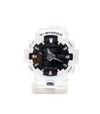 カシオジーショック CASIO G-SHOCK GA-700 ワールドタイム アナログ デジタル クォーツ 腕時計 ホワイト 白 【ブランド古着ベクトル】【中古】210510★