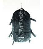 シュプリーム SUPREME 18AW BackPack ロゴ プリント バックパック リュック ブラック 【ブランド古着ベクトル】【中古】 210529 ☆AA★