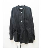 ベッドフォード BED J.W. FORD 16AW-B-BL02 Oriental. 長袖 シャツ シルク混 ブラック 0【ブランド古着ベクトル】【中古】210513