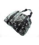 シュプリーム SUPREME 21SS Bandana Tarp Small Duffle Bag バンダナ柄 タープ ダッフルバッグ スモール ブラック【ブランド古着ベクトル】【中古】210702☆AA★