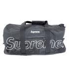 シュプリーム SUPREME 18AW Duffle Bag ロゴ ダッフル バッグ ボストンバッグ ブラック 【ブランド古着ベクトル】【中古】 210727 ☆AA★