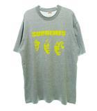 シュプリーム SUPREME 初期 2001年 THE SUPREMES TEE ダイアナ・ロス プリント 半袖 Tシャツ グレー L【ブランド古着ベクトル】【中古】210809☆AA★
