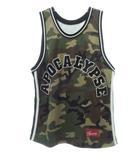 シュプリーム SUPREME 16SS Apocalypse Basketball Jersey ロゴ バスケットボール ジャージ タンクトップ 迷彩 カモ柄 M【ブランド古着ベクトル】【中古】210730 ☆AA★ 104