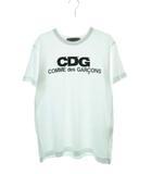コムデギャルソン COMME des GARCONS AD2017 GOOD DESIGN SHOP CDG ロゴ プリント 半袖 Tシャツ IH-T009 M ホワイト 【ブランド古着ベクトル】【中古】 210804 ★