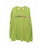 シュプリーム SUPREME 20SS Week5 Supreme Meta Logo L/S ロンTシャツ L【ブランド古着ベクトル】【中古】210904☆AA★