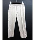 ユニクロ UNIQLO ダブルスタンダードクロージング ダブスタ DOUBLE STANDARD CLOTHING クロップド パンツ M グレージュ ストレッチ 076995