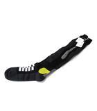 メゾンマルジェラ Maison Margiela ハイ ソックス 靴下 M 黒 ブラック コットン デザイン S15780 ◎
