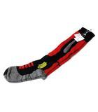 メゾンマルジェラ Maison Margiela ハイ ソックス 靴下 M 黒 ブラック 赤 レッド コットン デザイン S15780 ◎