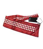 ディースクエアード DSQUARED2 スカーフ レッド 赤 シルク ドット 17ST5002 1151 ◎