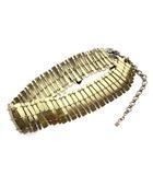 ディースクエアード DSQUARED2 ベルト ゴールド 金色 プレート 金属素材 83BE2011 372 ◎