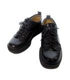ワイズフォーメン Y's for men ヨウジヤマモト コンフォート シューズ 黒 ブラック レザー レースアップ プラットフォーム 靴