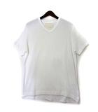 タトラス TATRAS ヴイルーム ブイルーム V::ROOM Tシャツ 02 白 ホワイト コットン 半袖 Vネック カットソー