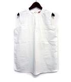 ダブルスタンダードクロージング ダブスタ DOUBLE STANDARD CLOTHING ブラウス カットソー 36 S 白 ホワイト 無地 ノースリーブ