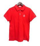 ミキハウス mikihouse ORIGINAL キッズ ポロシャツ S 赤 レッド コットン 子供服 ロゴ 刺繍