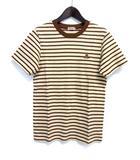ミキハウス mikihouse ORIGINAL キッズ Tシャツ カットソー 3 ベージュ コットン 子供服 ボーダー