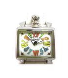ガガミラノ GaGa MILANO 6035.01 ナポレオーネベイビー クォーツ 腕時計 革ベルト レディース 白 ホワイト