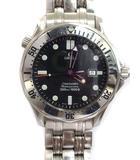 オメガ OMEGA シーマスター プロフェッショナル 300M 2542.80 SS クォーツ 腕時計 ネイビー シルバーカラー