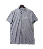 アルマーニエクスチェンジ A/X ARMANI EXCHANGE ポロシャツ S 紺 ネイビー コットン 半袖 ロゴ プリント